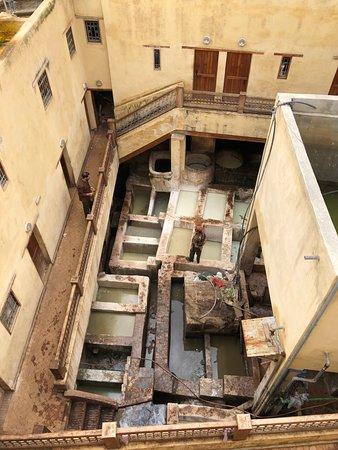 Moulay Abdellah Quarter: vasche delle tanneries