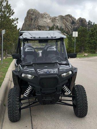 คัสเตอร์, เซาท์ดาโคตา: Polaris RZR 900 4 seater at Mount Rushmore