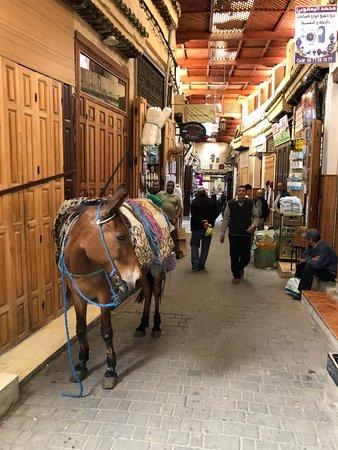 非斯的阿拉伯区照片