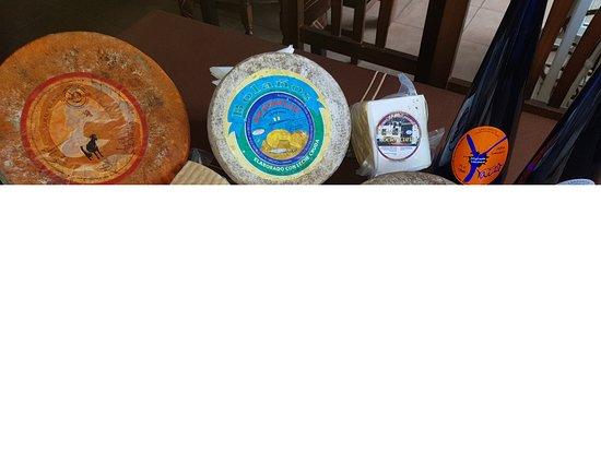 Costa Blanca : Variedad de quesos canarios