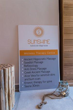Sunshine Hotel: Spa