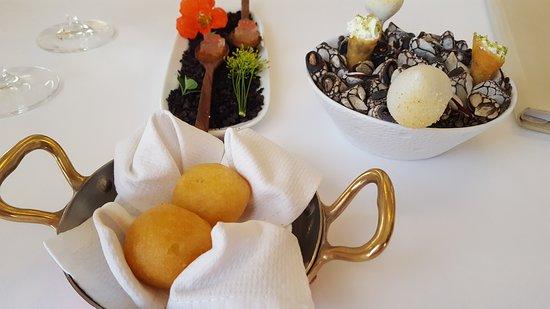 Hostellerie de Plaisance: Excelente gastronomía.