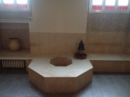 Hammam della Rosa: tepidarium