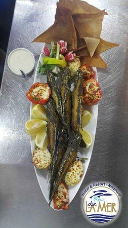 Reve de la Mer : سمك لقز مقلي