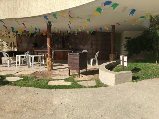 Hotel Fazenda Monte Castelo: Área das oficinas de recreação