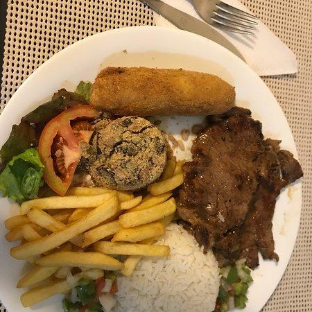 Hotel Financial: Visão privilegiada e sem contar na comida maravilhosa do restaurante