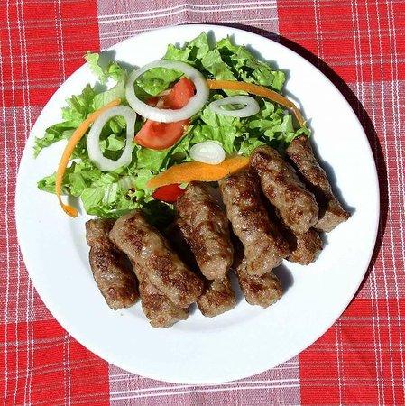 Gjakova, Kosovo: Traditional Balkan dish