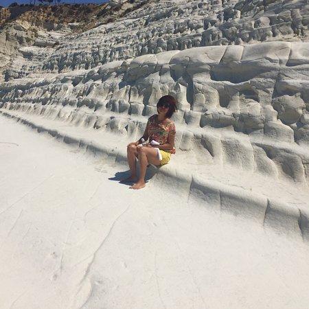 白悬崖海滩照片