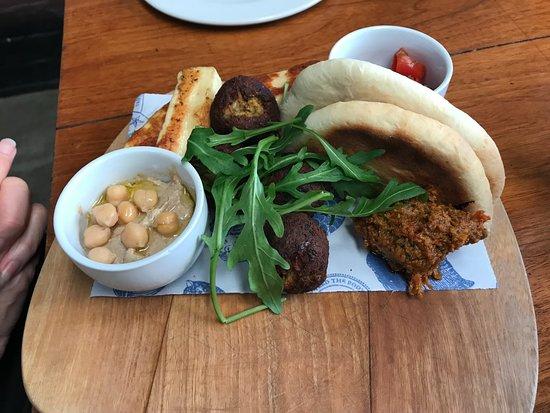 Salvation Cafe: Mezze platter