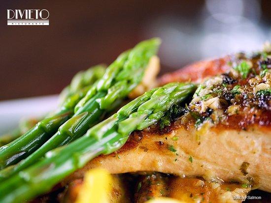 Divieto Ristorante: Tuscan Salmon