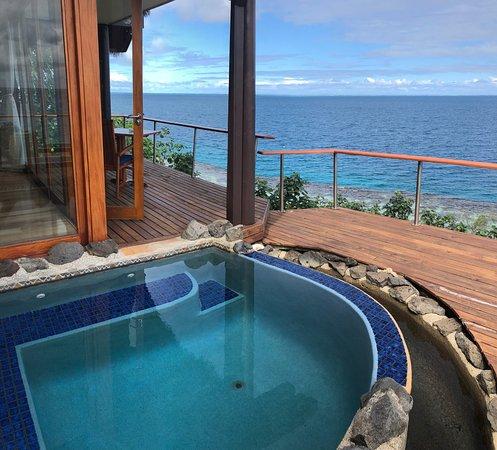 Royal Davui Island Resort, Fiji : Our deck