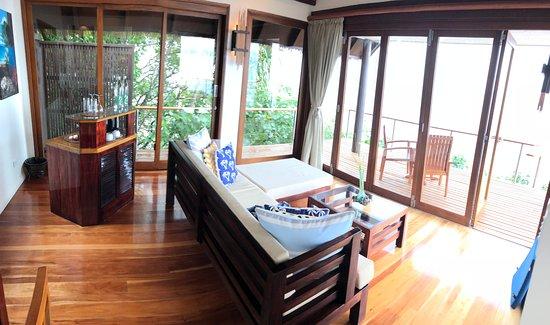 Royal Davui Island Resort, Fiji : Our villa
