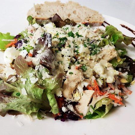 Pastel et Sarrasin: Salade Caesar collection été 2018