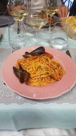 Anphora Ristorante: spaghetti allo scoglio