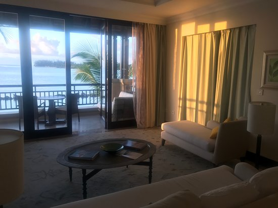 The Westin Turtle Bay Resort & Spa, Mauritius: View from Lounge and 2nd Balcony