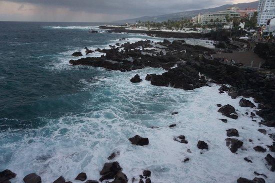 Playa San Telmo: Bucht in der Dämmerung