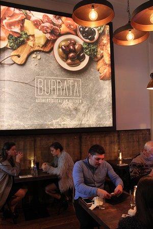 Burrata: cozy atmosphere