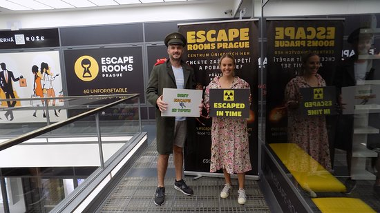 Escape Rooms Prague: 5.6.2018