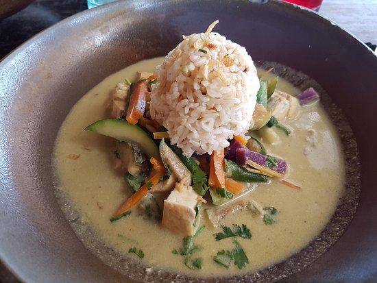 Moksa Plant-based Cuisine & Permaculture Garden: Curry aux légumes