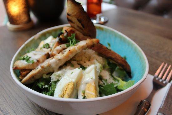 Burrata: Caesar Salad