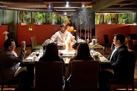 "Grand Park Royal Luxury Resort Cancun : Teppanyaki ""El Oriental"""