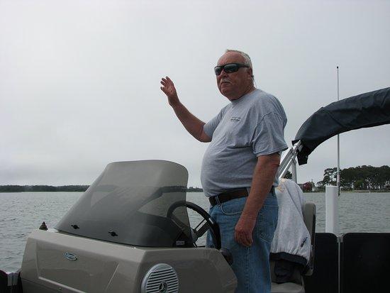 Saltwater Pony Tours : Capt. Gene - the MAN