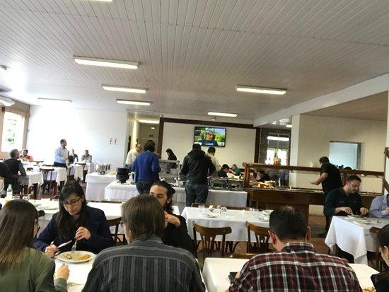 Restaurante Fazenda Sao Borja: dining area and buffet