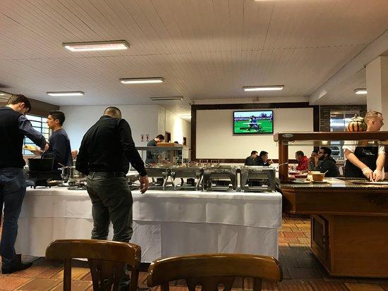 Restaurante Fazenda Sao Borja: buffet