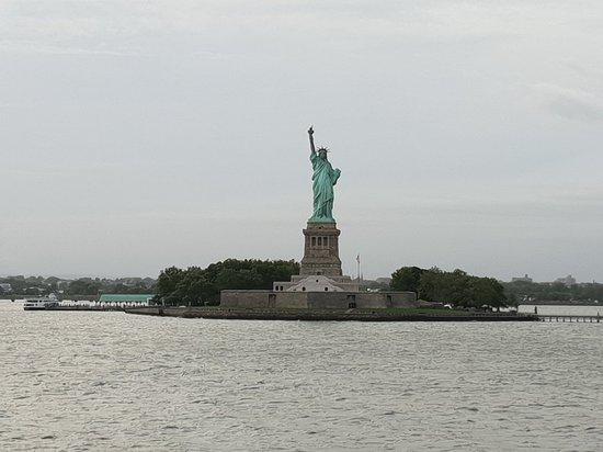 自由女神像照片