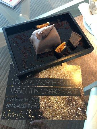 ดับบลิวรีทรีทแอนด์สปา บาหลี-เซมินยัค: Special gift from the hotel