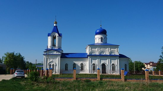 Nizhneye Kazachye, Rusia: Церковь Казанской иконы Богоматери