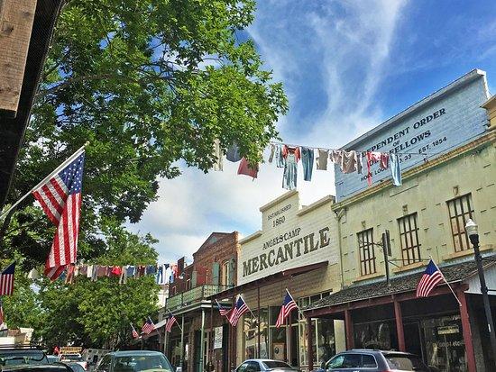 Historic Angels Camp   Calaveras Visitors Bureau