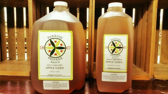 Oak Glen, كاليفورنيا: Fresh-pressed raw apple cider is available to sample nearly year-round.