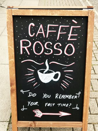 Caffe Rosso : First time?