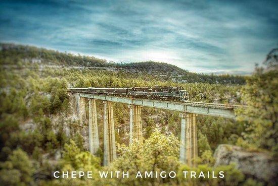 The 3 Amigos: New **Chepe Express Train - May 2018
