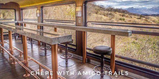 The 3 Amigos : New **Chepe Express Train - May 2018