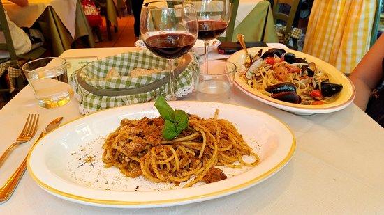 Siciliainbocca in Prati: Pasta con le sarde