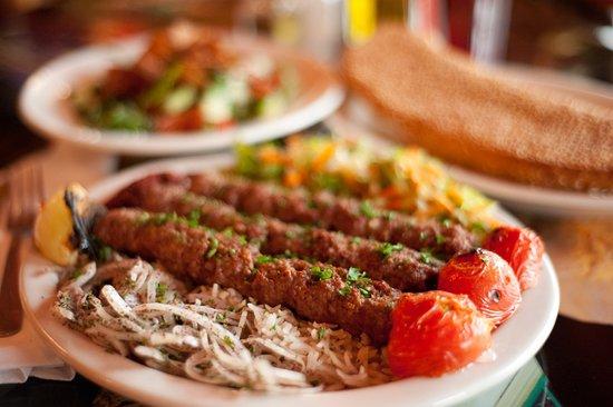 Mama Mia Cuisine Mediterranean food: shish kebab
