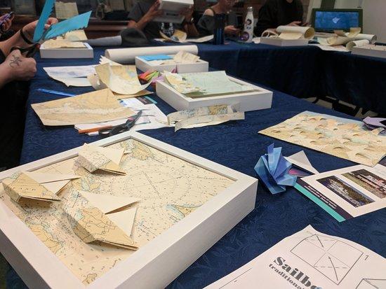 Special Activities: Nautical Chart Art Workshop (Weekends