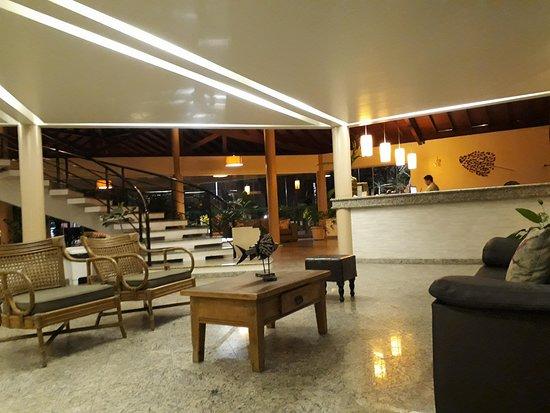 Sarana Praia Hotel: Muito bunita a recepçao