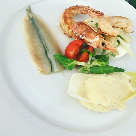 Broni, Włochy: antipasto  menù degustazione