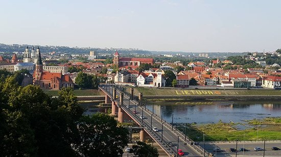 MG Voyages - Day Tours: Panoramic view of Kaunas