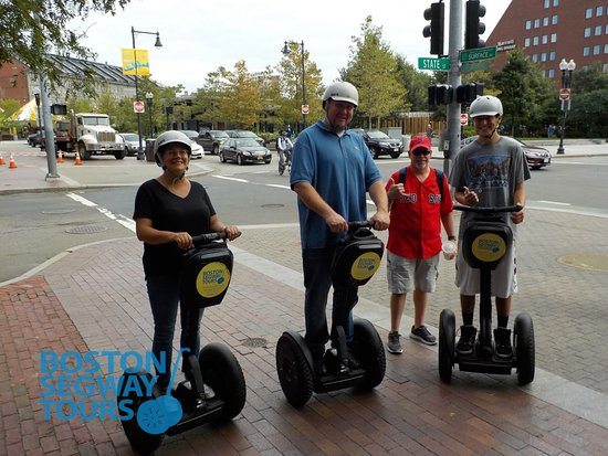 Boston Segway Tours : Visiting the #Boston to see the #Redsox this season? Join us on a #Segway #tour during your #fam