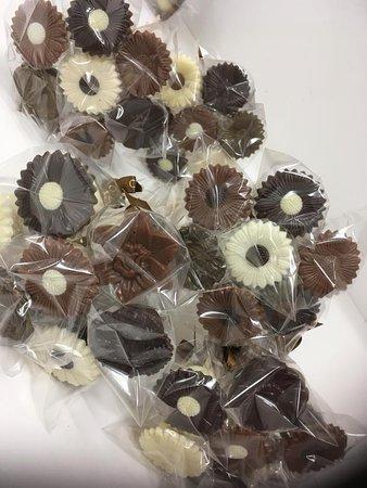Chokolade Mageriet: Blomsterbukets