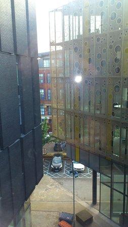 Ibis Budget Manchester Centre Pollard Street: Ausblick aus dem Fenster