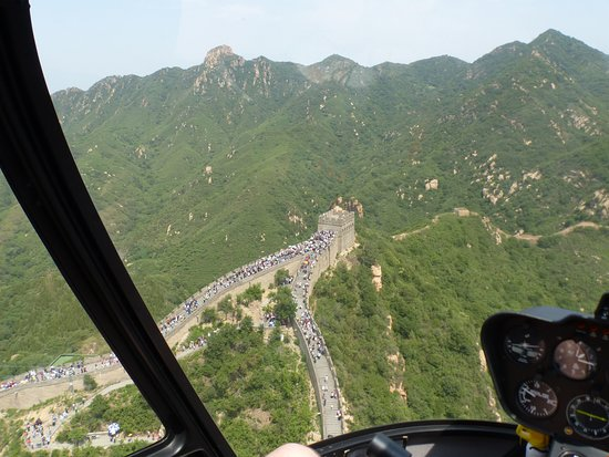 Great Wall Helicopter Tours: Great Wall from above