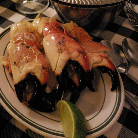 Joe's Stone Crab Restaurant and Take Away: Large Stone Crab Claws from Joes
