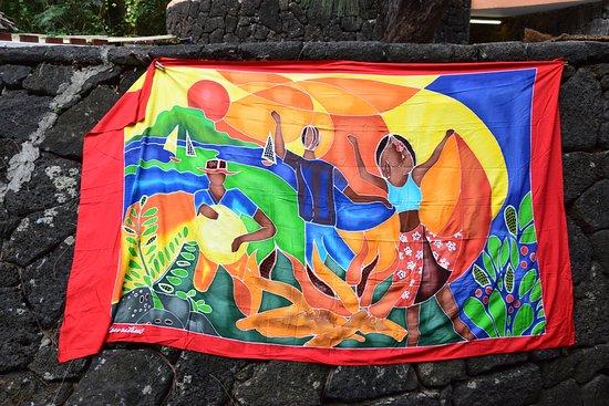 Ile aux Cerfs: Batik