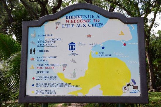 Ile aux Cerfs: Mappa