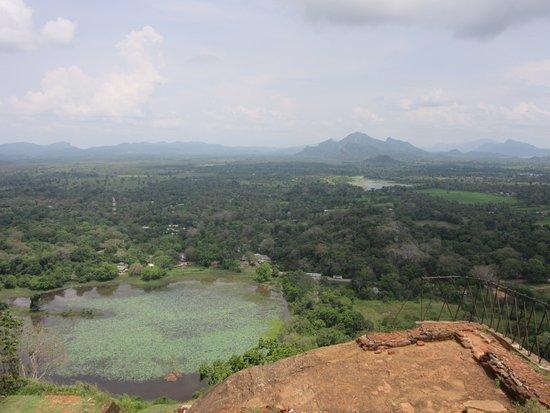Sigiriya The Ancient Rock Fortress: Ausblick